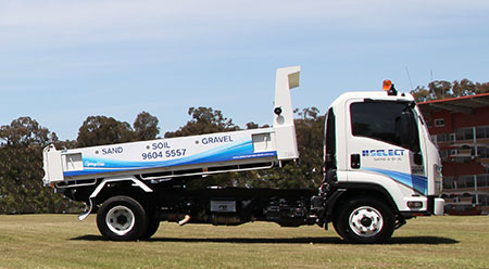 Sand Soil Truck
