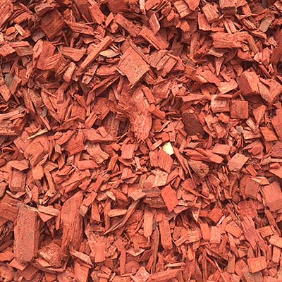 Red Wood Chip Mulch